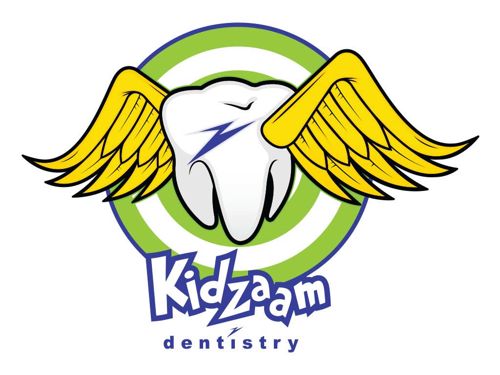 Kidzaam Dentistry Flying Tooth Illustration