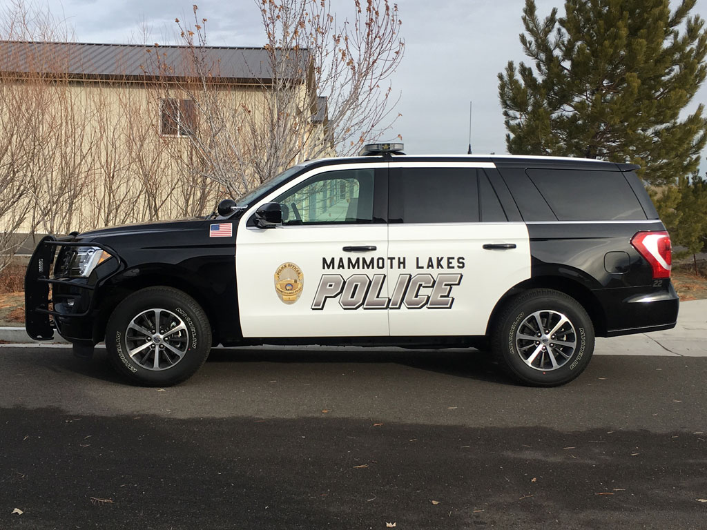 Mammoth Lakes CA Police Ford Expedition